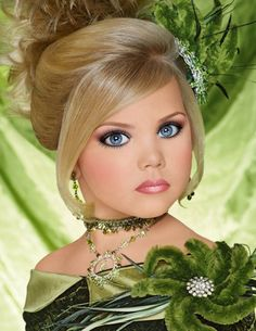 I don't care what anyone says... If I'm lucky enough to have a girl I want her in pageants... just saying.
