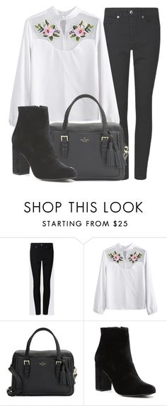 """""""Outfit #1619"""" by lauraandrade98 on Polyvore featuring Kate Spade and Witchery"""