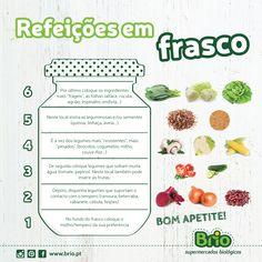 Supermercado Brio Biológico - Refeiçōes em Frasco