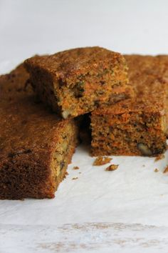 Kaye's delicious Carrot Slice is an absolute winner! Baking Recipes, Cake Recipes, Dessert Recipes, Baking Desserts, Dinner Recipes, Carrot Recipes, Sweet Recipes, Biscuit Recipe, Healthy Baking