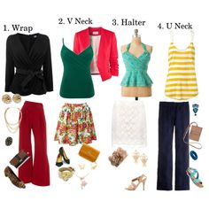 Best Top Shapes For Petitie Inverted Triangle