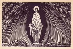Harry Clarke, illus. for 1925 edition of Goethe's Faust