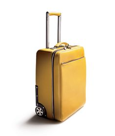 Porsche Design leather trolley: best luggage winner in our #TLDesignAwards 2013.