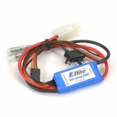 30-Amp Mini Brushed ESC with Brake by E-flite. $44.83. For use with Speed 400, 500, & 600 motors and below Proportional forward w/brake 30-amp continuous current Thermal overload protection Auto cut-off with BEC Prewired with universal connectors. Now electric flight fans have a new choice when it comes to high-performance speed controls for their aircraft. E-flite?s new selection of 5-, 10-, 20- and 30-amp ESCs are loaded with the kinds of features they demand at a very a...