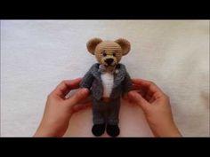 HOW TO CROCHET SUIT / MARRIED BEAR CROCHET - YouTube