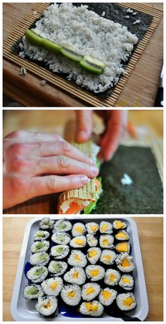 how to make fruit sushi! kids will love these perfect mouthful's of yummy!