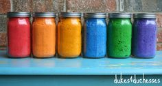 DIY Color Powder Holi powder {for a Color Fight} - Dukes and Duchesses