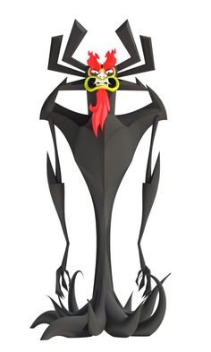The Showgun of Sorrow AKU a Samurai Jack 3D model, follow me on twitter and relink the master of darkness to get him today!