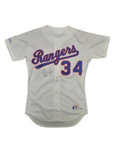 Nolan Ryan Autographed Texas Rangers Jersey