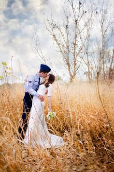 Gorgeous Military Wedding shot in honor of Veterans Day!