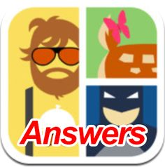 3Answers for Icomania Game. Best solutions. Check out New Cheats for this Great App for your iPhone & Android.