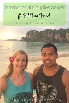 This month's International Couples Series feature is Tarah & Tip from Fit Two Travel! I loved reading through their love story! Check it out on the blog!