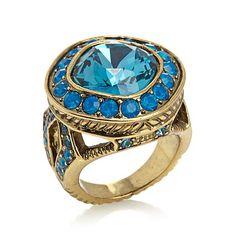 "Heidi Daus ""Étoile Elegance"" Crystal Ring"