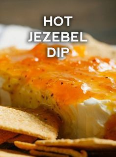 Hot Jezebel Dip Hot Jezebel Dip - Everything About Appetizers Finger Food Appetizers, Appetizer Dips, Yummy Appetizers, Appetizers For Party, Appetizer Recipes, Snack Recipes, Cooking Recipes, Finger Foods, Cajun Appetizers