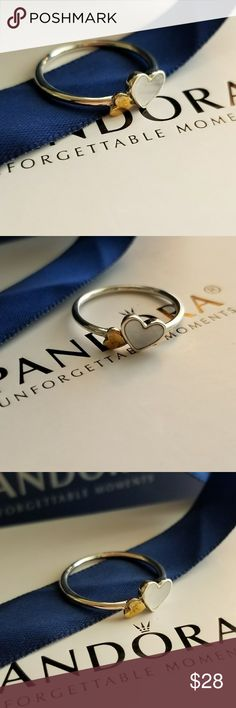 Pandora heart ring New  High quality  Size 8 Included dust baggy Pandora Jewelry Rings