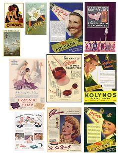 Vintage Ads 1, via Mary Watkin on flickr