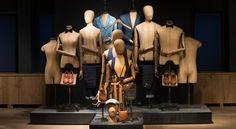 Mannequins de vitrine femme et homme vintage de la collection Dijckman &…