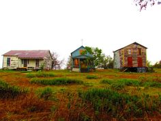Abandoned Town. Winkelmann, Texas