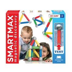 Ce jeu de construction magnétique Smartmax promet aux enfants un plaisir de jeu maximal et offre la possibilité d'explorer le monde fascinant du magnétisme à l'aide de pièces surdimensionnées spécifiquement destinées à la manipulation par les jeunes enfants. Ils seront enchantés par la découverte des effets d'attraction et de répulsion des aimants. Bien aimantées, les pièces tiennent solidement en place et, une fois assemblées, permettent de faire de nombreuses figures. Avec ce coffret de…