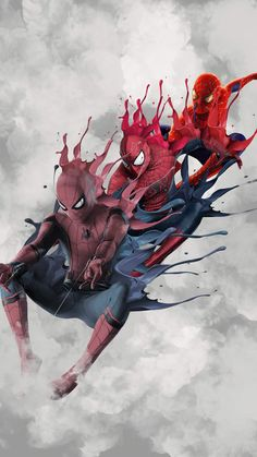 Spider-Man wallpaper on Behance Marvel Art, Marvel Dc Comics, Marvel Heroes, Marvel Avengers, Spider Men, Spiderman Spider, Spiderman Anime, Spiderman Images, Man Wallpaper