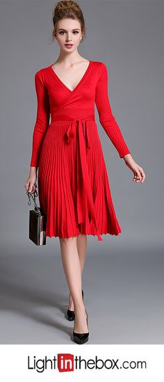 Women's Going out Sexy Street chic Swing Dress
