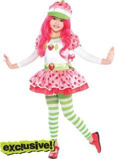 Toddler Girls Strawberry Shortcake Costume - Party City