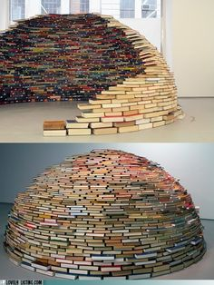 Igloo...though knowing me I'd always want to read one that's in the middle