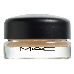 M·A·C 'Pro Longwear' Paint Pot (£15) ❤ liked on Polyvore featuring beauty products, makeup, eye makeup, eyeshadow, beauty, soft ochre, mac cosmetics eyeshadow and mac cosmetics