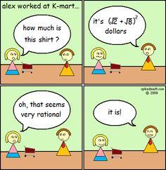 Spiked Math Comic - Alex Worked At K-Mart
