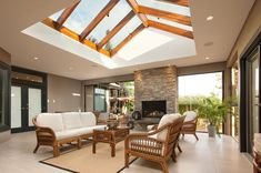 glass patio ceiling