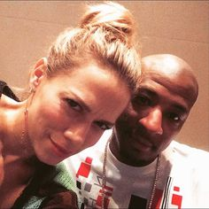 Bethany Joy Lenz and Antwon Tanner