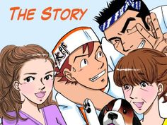 manga adventures of taro, who is training to become the world's top chef