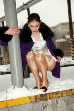 Art of Gloss 雪地双层闪亮裤袜 - 纳兰无情 - 纳兰无情的博客