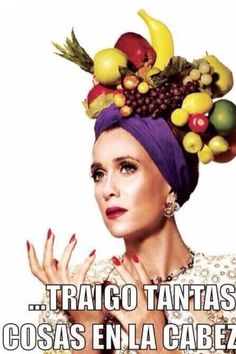 I don't usually post magazine pics here, but I'll bite with these new Kristen Wiig photographs from V magazine. The Saturday Night Live star did a cool photo shoot inspired by Carmen Miranda, Frida Kahlo and Brigitte Bardot. Carmen Miranda Costume, Mexican Problems, Mexican Memes, Spanish Humor, V Magazine, Snl, Funny People, Raw Food Recipes, Belle Photo