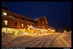 Old Faithful Snow Lodge; Yellowstone National Park, WY