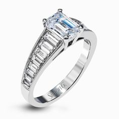 An exclusive design by Simon G., the MR2393 Engagement Ring is a stunning piece of jewelry sure to please. Check out this designer piece today!