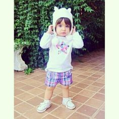 @florencavilarinho - Xadrezinho do dia #babyflorença #babystyle... - EnjoyGram