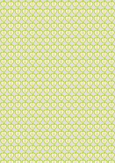 MeinLilaPark – DIY printables and downloads: Free digital apple scrapbooking paper - ausdruckbares Geschenkpapier - freebie