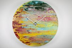 Modern,Wall sculpture,Glass, Wall Art,Oversized Wall clock,Extra Large Clock,Abstract Art,Glass Painting,Abstract painting,Unique Wall Light on