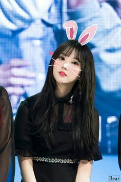 Bunny Eunha🐰💕 I want it when you feel sad to think of me and smile.