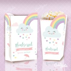 Rainbow Rain of Love. Welcome Poster, Banner Letters, Food Decoration, Flag Decor, Little Boxes, Birthday Decorations, Pink Girl, Printables, Rainbow