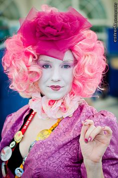This Halloween, try being Effie Trinket from the Hunger Games!