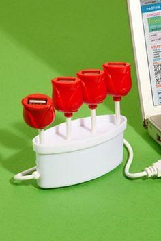 USB Tulip Hub $24