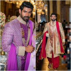 Rana Daggubati Rana Daggubati, Handsome Male Models, Mens Fashion Wear, Indian Man, Stylish Tops, Sherwani, South India, Mens Fitness, Blouse Designs