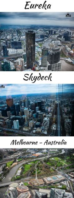 Eureka Skydeck Is Located In The Eureka Tower On Southbank In Melbourne Australia The Skydeck