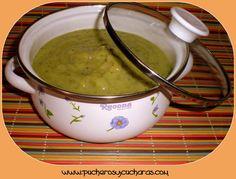 Pucheros & cucharas: Crema de calabacin