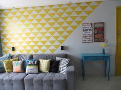 Drops de decoração: Como fazer papel de parede com contact
