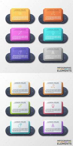 Buy Futuristic Infographic Paper Frames Styles) by Andrew_Kras on GraphicRiver. Six separate black round paper elements with thin line icons and letters inside, text boxes. Concept of 6 features of. Infographic Resume, Infographic Templates, Infographics, Business Plan Presentation, Paper Presentation, Powerpoint Design Templates, 3d Printing Service, Paper Frames, Cartoon Design