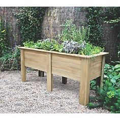 Order online at Screwfix.com. A versatile planter with a classic design, suitable for growing a variety of flowers or vegetables. The depth of this planter makes it ideal for accommodating long root crops, while the raised height makes it easy to work without the need to bend down. Pressure-treated for longer life, eliminating the need for annual re-treatment. FREE next day delivery available, free collection in 5 minutes.