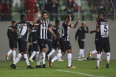 Robinho marcou os dois gols do Atlético-MG   Thomas Santos/AGIF